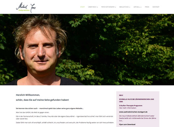Website Heilpraxis Joos